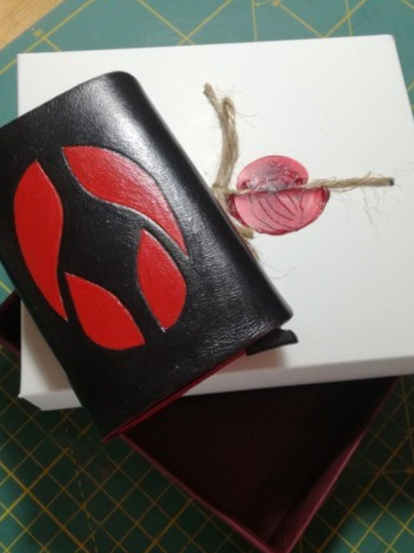 Card Holder Red Eye