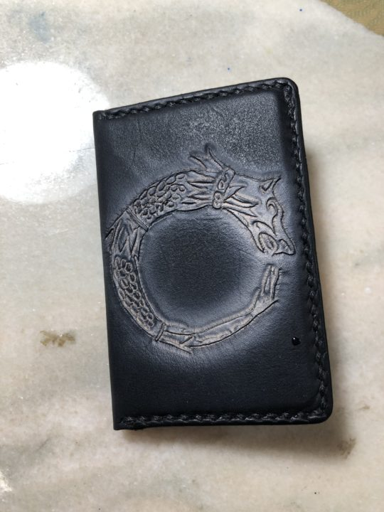 Card Holder Oroborus Rapana