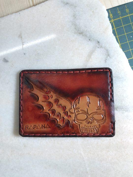 Card Holder Skull Rapana