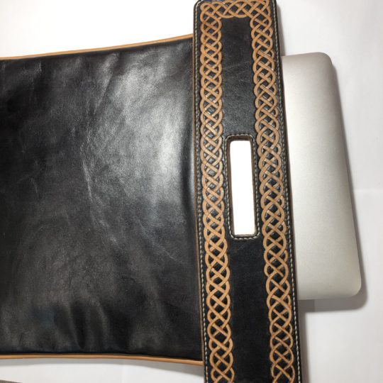 Geanta laptop piele Celtic Rapana
