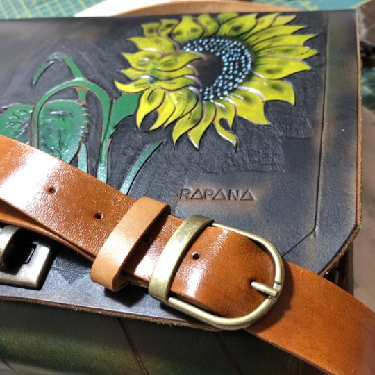 Geanta piele Sunflower Rapana
