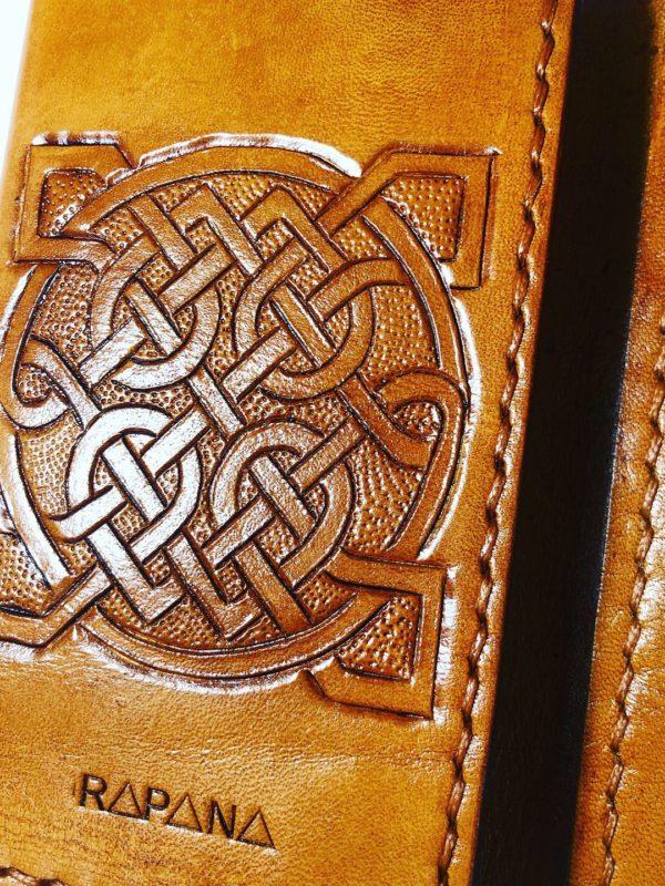 Portofel piele Celtic Rapana