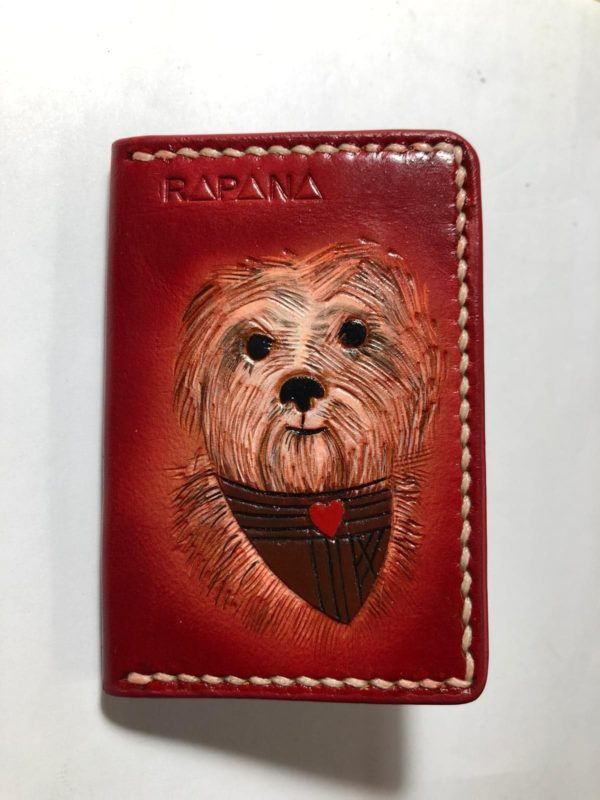 Card Holder Bichon Rapana