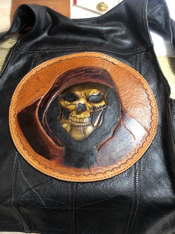 Vesta piele Grim Reaper Rapana